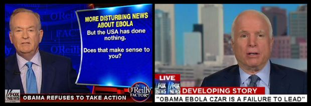 Fox Flip-flop on Ebola Czar